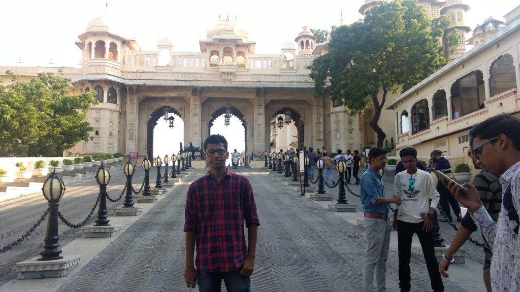 City Palace entrance gate
